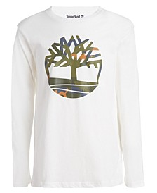 Big Boys Camo Tree Long Sleeve T-Shirt