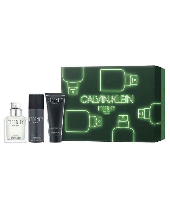 Calvin Klein Men's 3-Pc. Eternity Cologne Gift Set