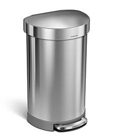 45L Semi-Round Trash Can