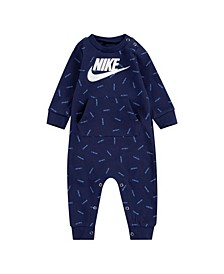 Baby Boys Jdi Waffle Thermal Cverall