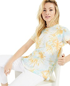 Cotton Tie-Dyed T-Shirt, Created for Macy's