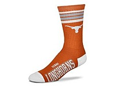 Texas A&M Aggies Youth 4 Stripe Deuce Crew Socks