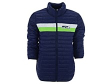 Men's Seattle Seahawks Yard Line Quilted Polyfill Jacket