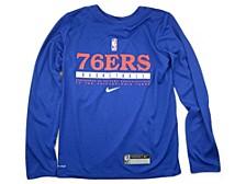 Youth Philadelphia 76ers Practice Long-Sleeve T-Shirt