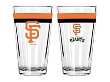 San Francisco Giants 16oz Double Banded Pint Glass