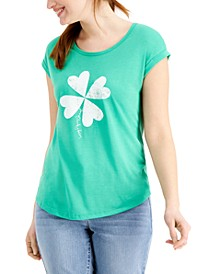 Good Luck Charm Graphic T-Shirt, Created for Macy's