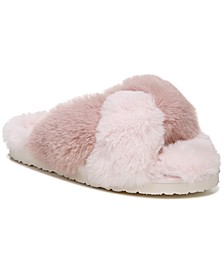 Women's Jaley Fluffy Flip-Flop Slippers