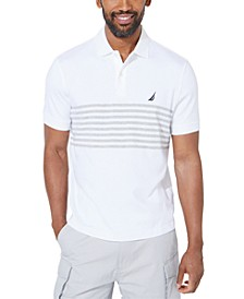 Men's Classic-Fit Interlock Striped Polo