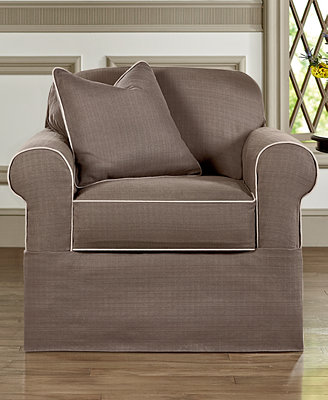 Sure Fit Bahama 2 Piece Chair Slipcover Slipcovers For