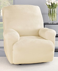 Stretch Plush 1-Piece Recliner Slipcover