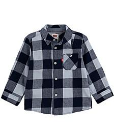 Baby Boys Long Sleeve Woven Shirt