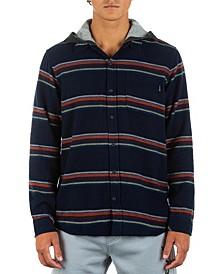 Men's Portland Stripe Flannel Hoodie