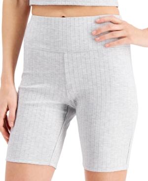 Knit Ribbed Bike Shorts