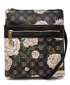 Floral Signature Dasher Crossbody, Created for Macy's