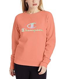 Women's Powerblend Fleece Logo Sweatshirt