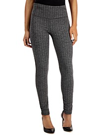INC Herringbone Leggings, Created for Macy's