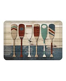 Playful Oars Kitchen Mat