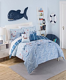 Ride The Waves Full/Queen Comforter Collection