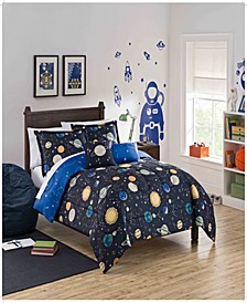 Kids Space Adventure Twin Bedding Collection, 2 Piece