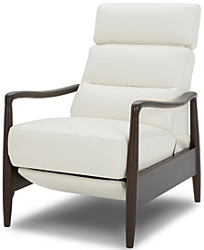 Jazlo Leather Push Back Recliner, Created for Macy's