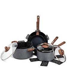 Solstice 12-Pc. Nonstick Cookware Set
