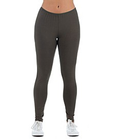 Women's Plus Size Ankle Length Stretch Leggings