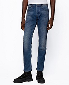 BOSS Men's Taber BC-Tapered-Fit Jeans