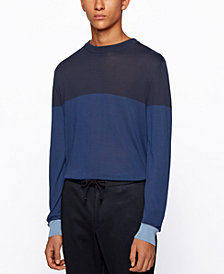 BOSS Men's T-Dinunzio Colorblocked Sweater
