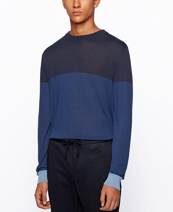 Hugo Boss BOSS Men's T-Dinunzio Colorblocked Sweater