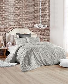 Vintage-inspired Tile Comforter Set, Full/Queen