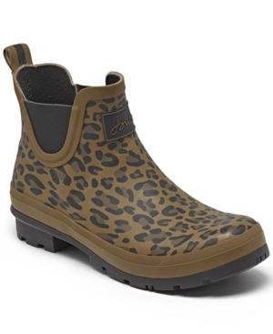 Women's Leopard Wellibobs Short Height Rain Boots from Finish Line