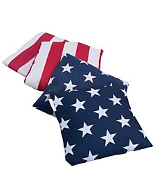 Stars Stripes Bean Bags set