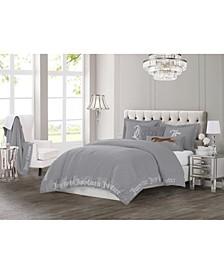 Gothic Comforter Set, 3-Piece, Queen