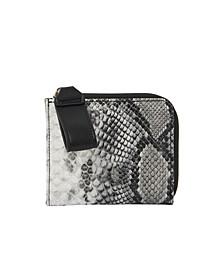 Medusa Vegan Leather Wallet