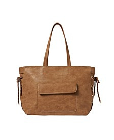 Everly Vegan Leather Tote