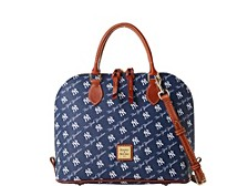 Dooney & Bourke New York Yankees League Collection Zip-Zip Satchel