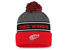 Detroit Redwings 2020 Locker Room Pom Knit