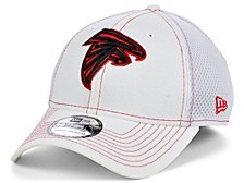 Atlanta Falcons White Team Color Tonal Neo 39THIRTY Cap