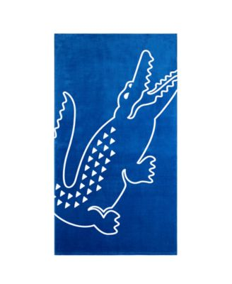 Zap Cotton Croc Logo Beach Towel