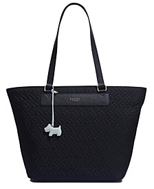 Large Zip Top Tote