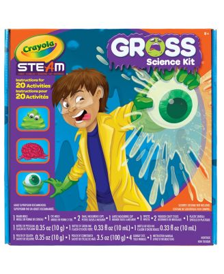 Crayola Gross Science Kit for Kids, Educational Toy, Gift for Kids, 7, 8, 9,10