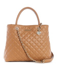 Illy Quilted Society Satchel
