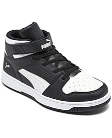 Little Boys Rebound LayUp Mid Casual Sneakers from Finish Line