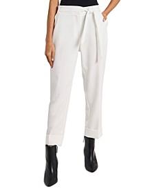 Skylar Cuffed Tie-Waist Pants, Created for Macy's