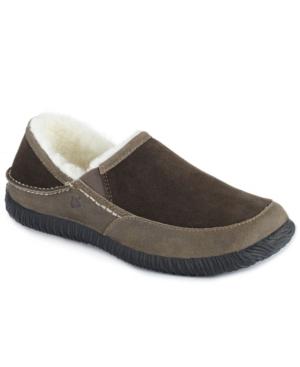 Men's Rambler Moccasin Slip On Indoor/Outdoor Slippers