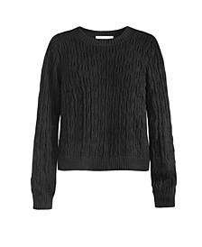 Women's Pointelle Sweater