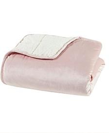 "Velvet to Berber Weighted Blanket, 50"" x 60"" - 10 lbs"