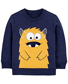 Toddler Boys Monster French Terry Pullover