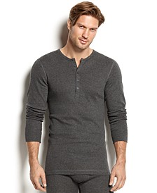 Men's Essential Range Long-Sleeve Henley