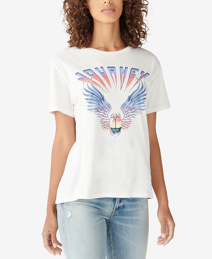 Lucky Brand - Journey Cotton Graphic T-Shirt